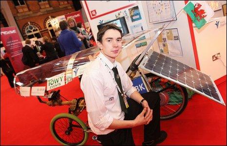 Solar Bike Shawn Wins