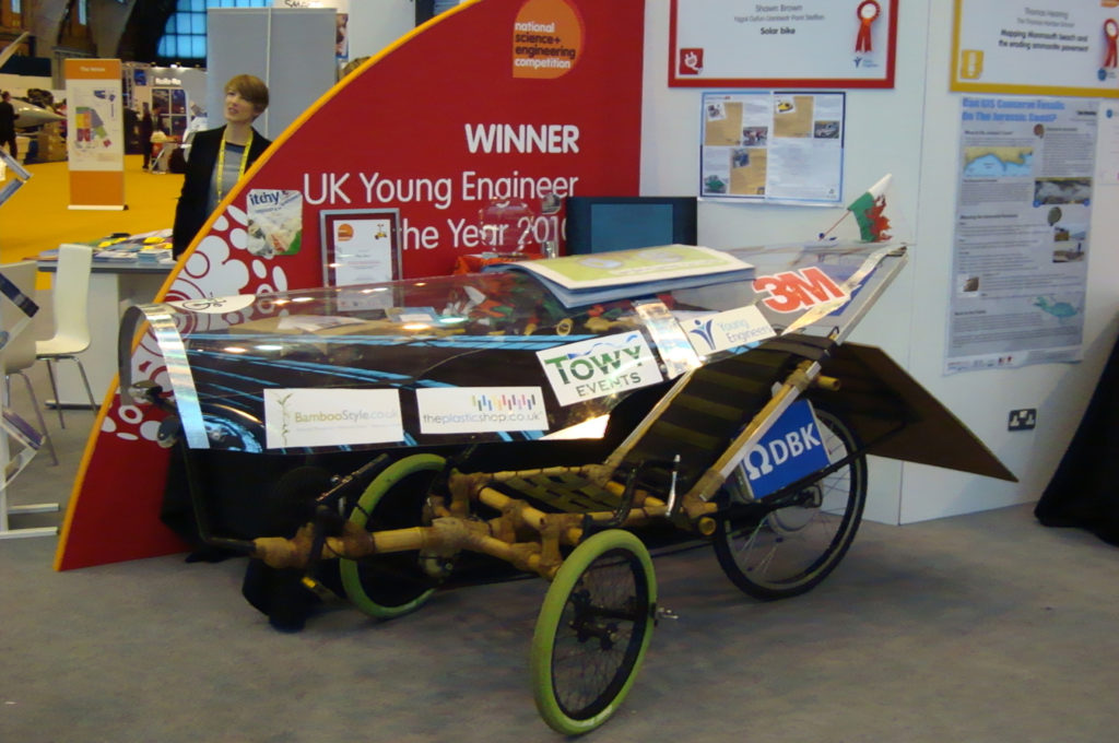 Solar Bike on Display