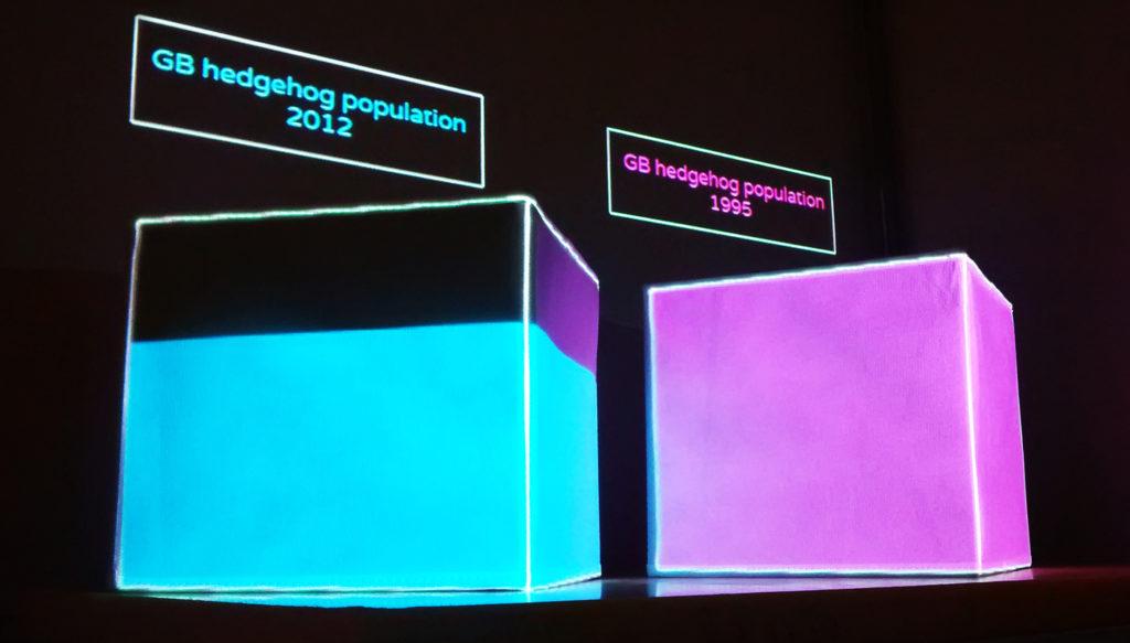Data Cubes Hedgehogs