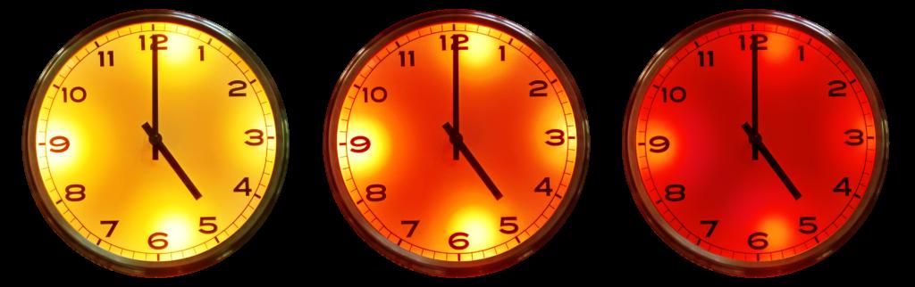 Watt Clock Colour Mix