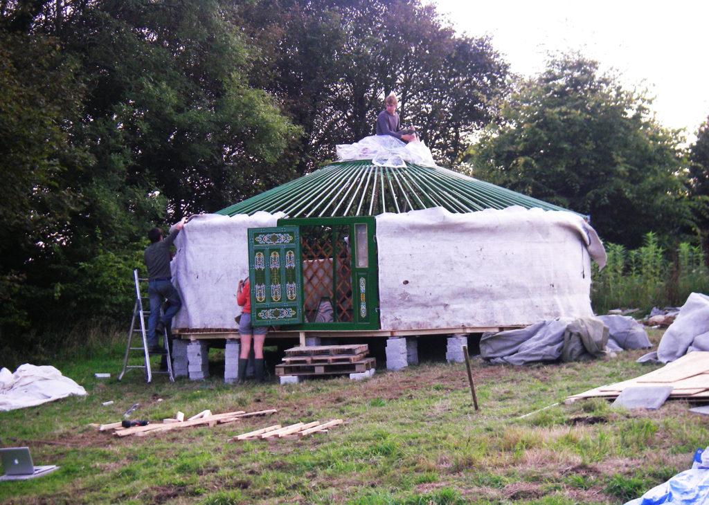 Yurt Build